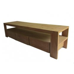 Teak TV Dressoir Den Haag greeploos